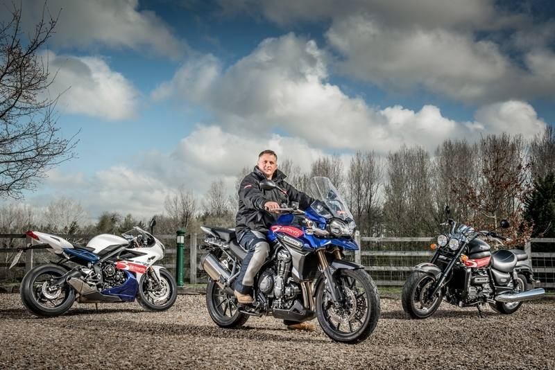 From professional cricketer to fantatical biker - Darren Gough. Credit_Chri