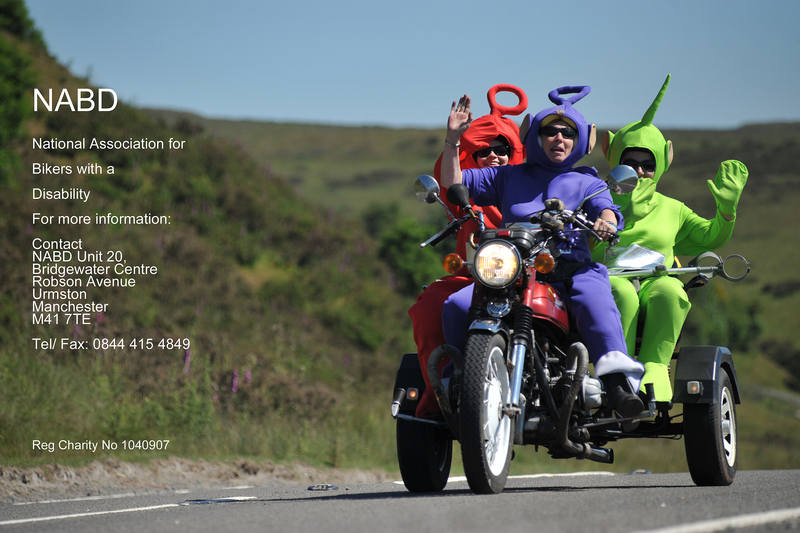Shifnab were doing their 5th 155 Mile Sponsored Fancy Dress Cafe Stop