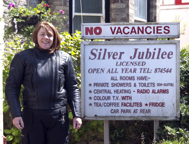 winner of the holiday to The Silver Jubilee, Karen Brunsdon