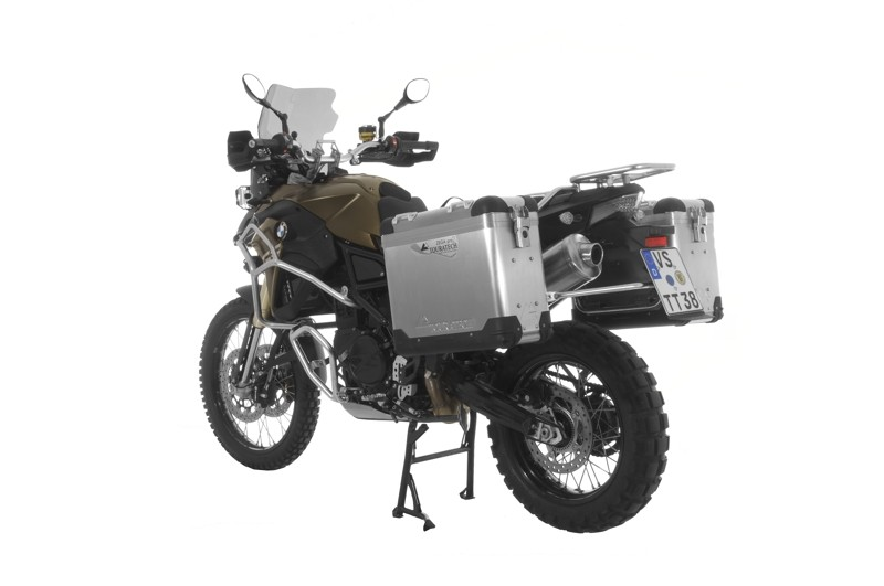 Touratech Zega Pro2 Aluminium Pannier System with stainless steel rack