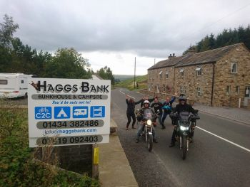 Haggs Bank Bunkhouse, Camping, Biker Friendly, Alston, Cumbria
