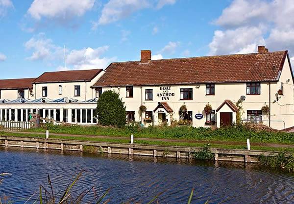 Boat and Anchor Inn, Biker Friendly, Bridgwater, Somerset