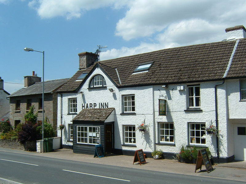 The Harp Inn, Biker Friendly, Glasbury on Wye, Powys, Wales
