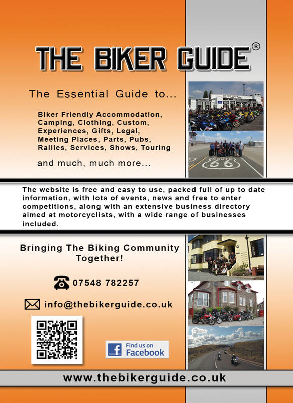 THE BIKER GUIDE - 3rd edition, booklet sample pages