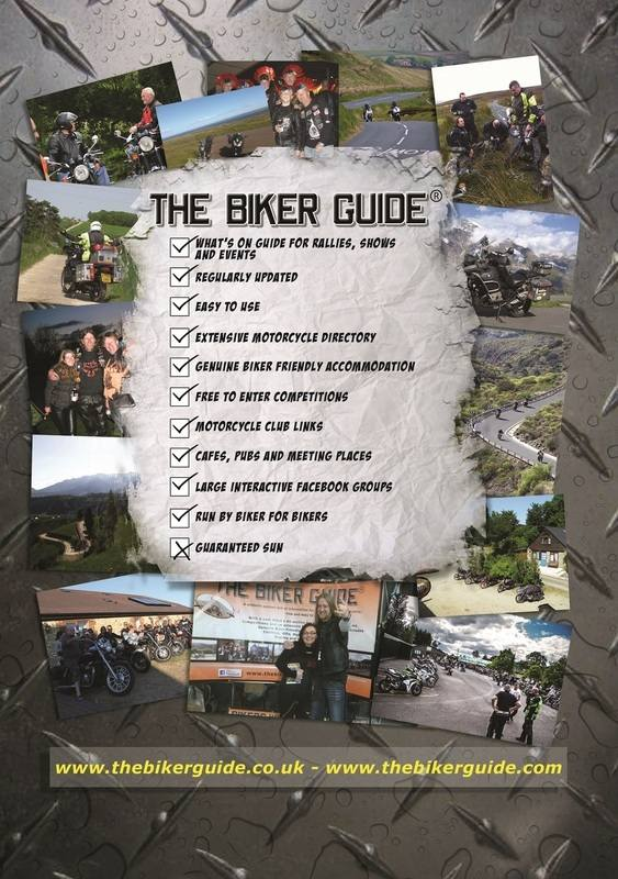 THE BIKER GUIDE - 3rd edition, tick box