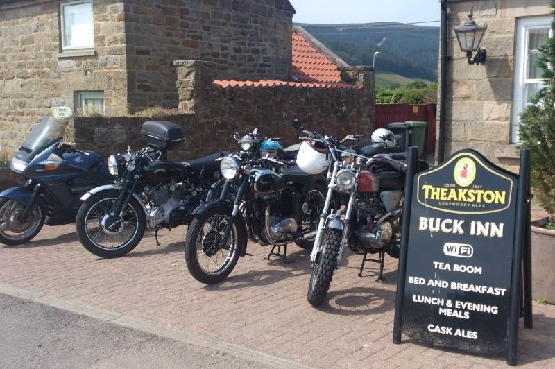 The Buck Inn, Biker Friendly, Bilsdale, North Yorkshire, pub