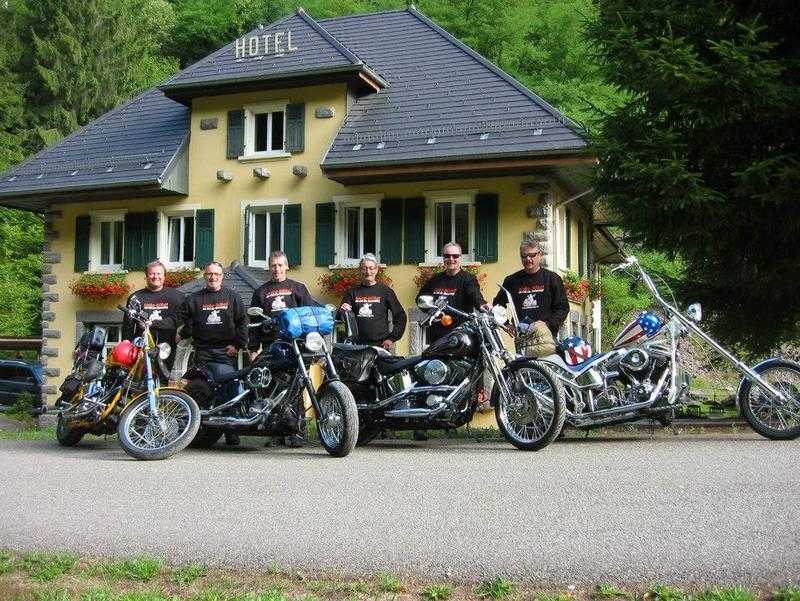 Col de Bussang, Bikers welcome, Bussang, Alsace, France