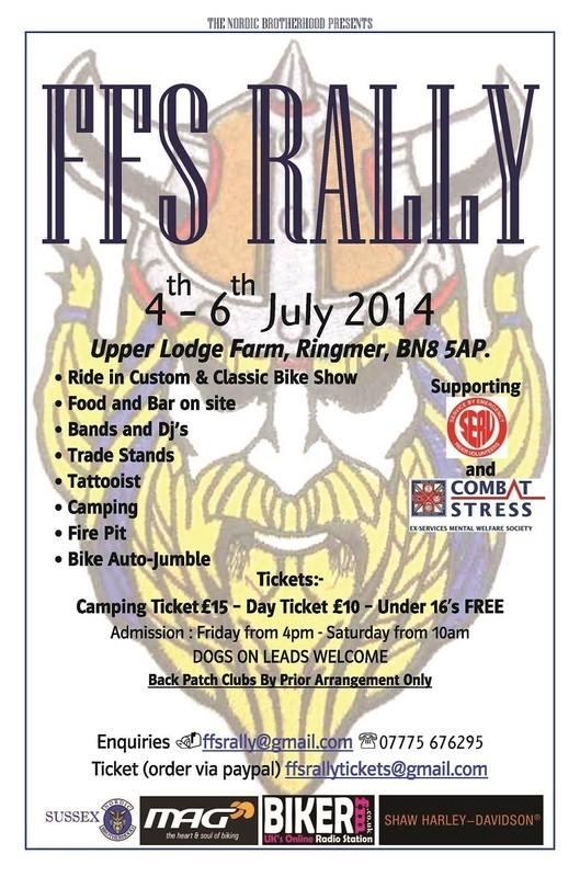 FFS Rally, Nordic Brotherhood, Sussex