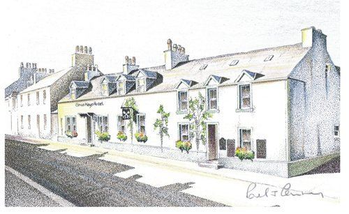 The Cross Keys Hotel, Biker Friendly, New Galloway, Castle Douglas, Dumfrie