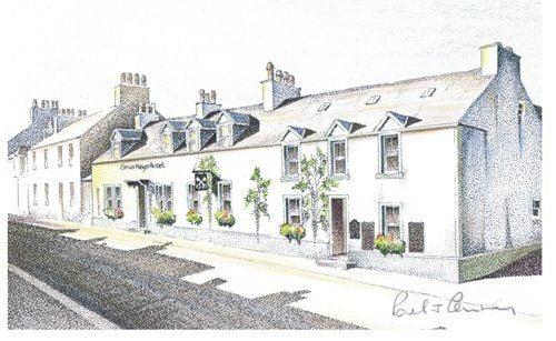 The Cross Keys Hotel, Biker Friendly, New Galloway, Castle Douglas, Dumfrie