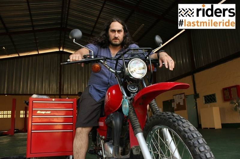 Ross Noble and Riders for Health launch nationwide ride-out