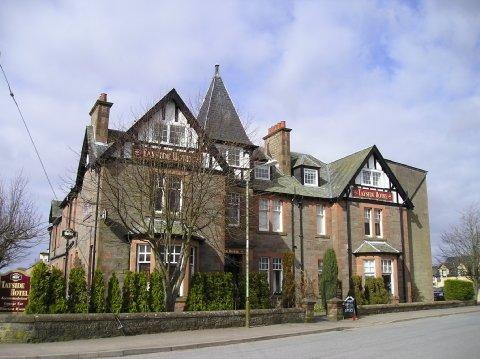 Tayside Hotel, Bikers welcome, Stanley, Perthshire