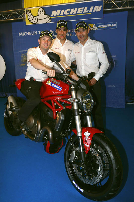 Monster1200 to Le Mans winners by Michelin