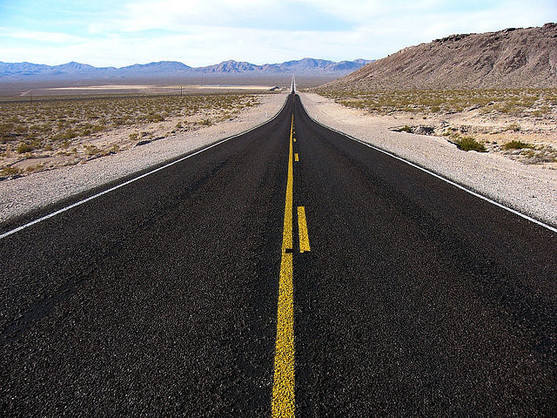 The Death Valley Road