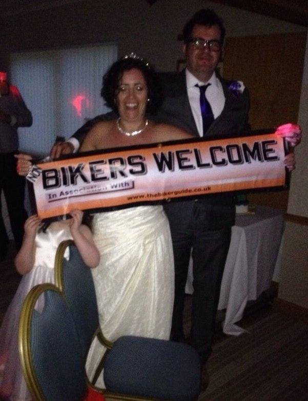 Bikers welcome - Mr and Mrs Lumb