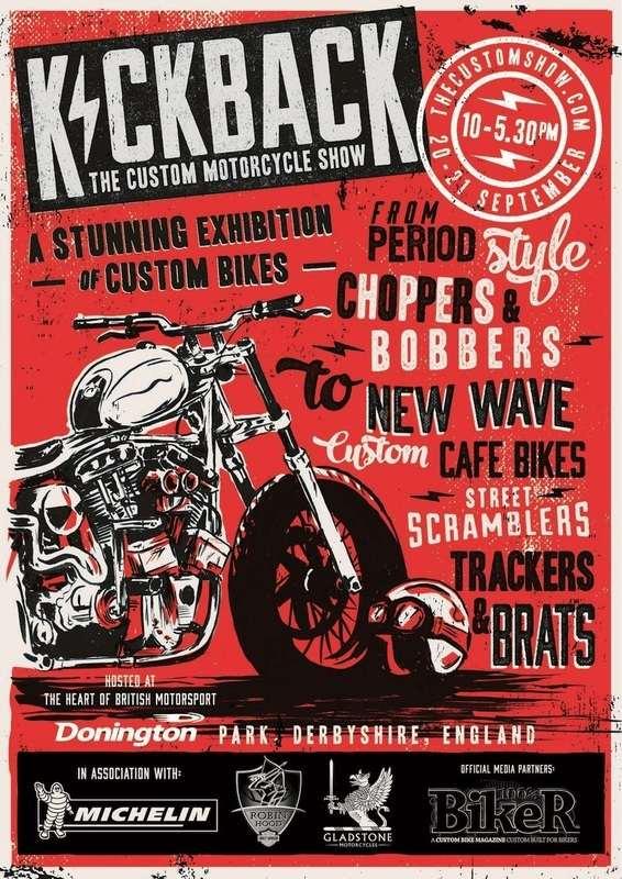 KICKBACK. The 4th national Custom Motorcycle Show