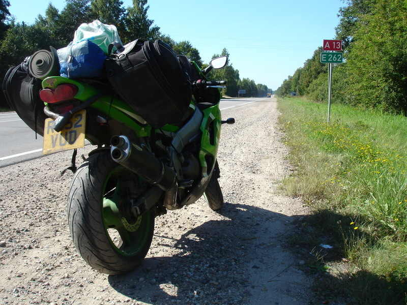 A Hapless Biker's Road to Russia