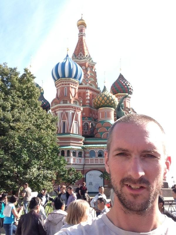 A Hapless Biker's Road to Russia - Kevin Turner