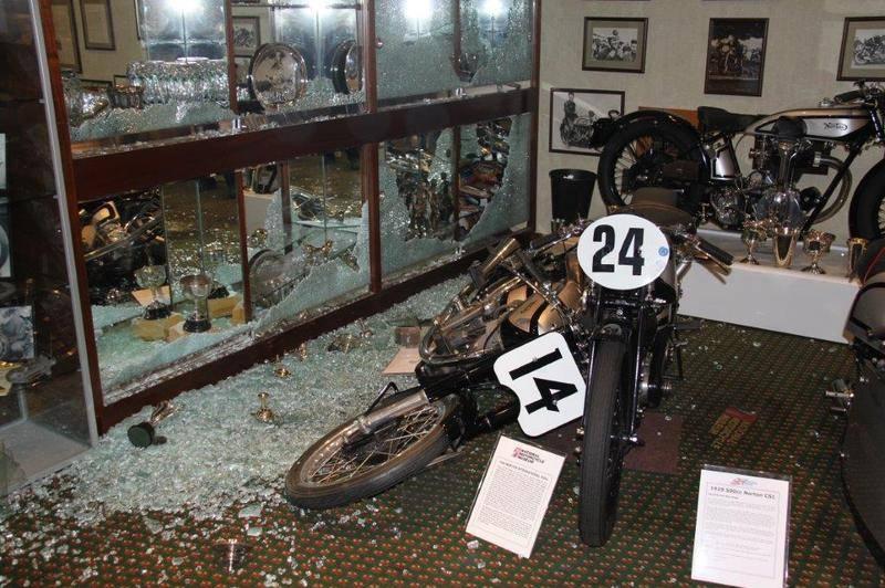 National Motorcycle Museum Trophies Stolen