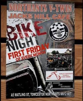 Bike Night at Jacks Hill Cafe, Towcester, Northamptonshire