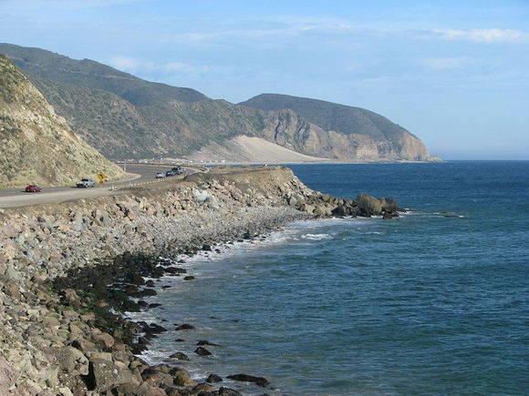 Pacific Coast Highway, Point Mugu,