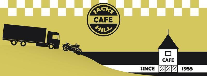 Jacks Hill Cafe, Bikers welcome, Towcester, Northamptonshire