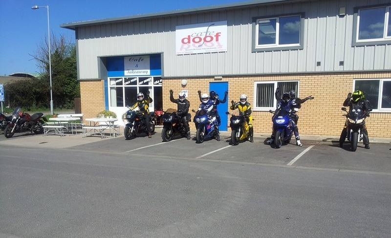 The Doof Cafe, Bikers welcome, , Ruthin, Denbighshire