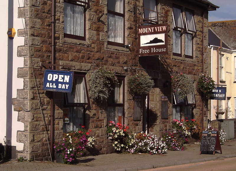 Mount View Hotel, Bikers welcome, Penzance, Cornwall