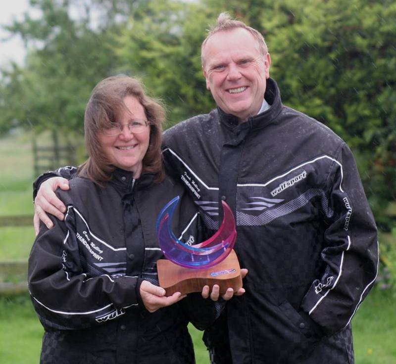 Thundersprint organisers Frank and Carol Melling announced that this iconic