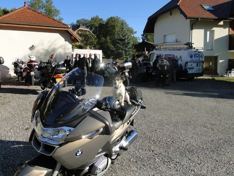 Hotel Auberge Camelia, Biker Friendly, Aviernoz, Haute-Savoie, France, BMW