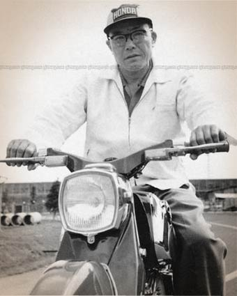 Soichiro Honda, born on 17th November 1906