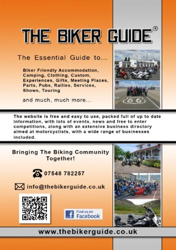 THE BIKER GUIDE - 4th edition, The essential guide for owners of a Motorcyc