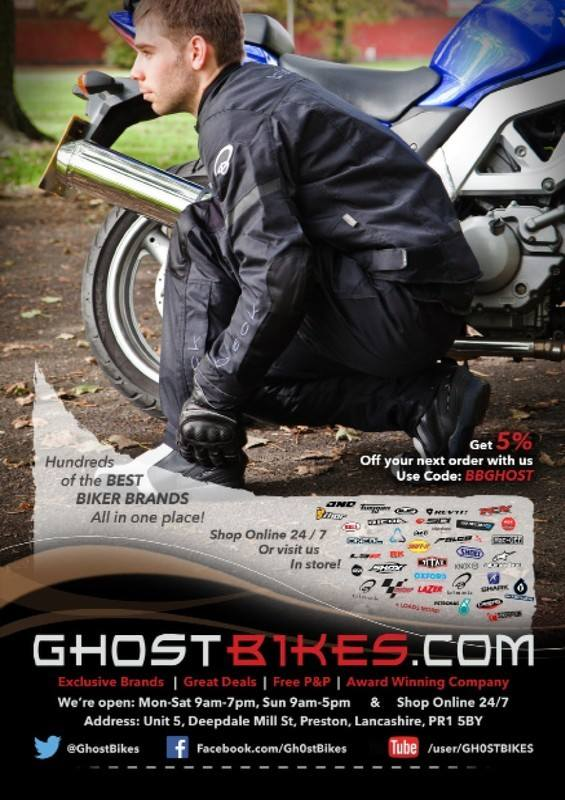 THE BIKER GUIDE - 4th edition, Ghost Bikes