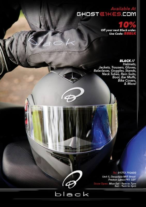 THE BIKER GUIDE - 4th edition, Ghost Bikes, Motorcycle Clothing