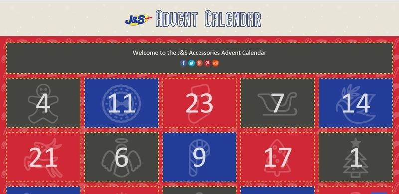 J&S Accessories Advent Calendar