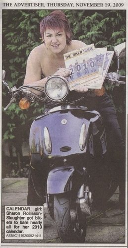 Tameside Advertiser THE BIKER CALENDAR 2010 biker guide press release