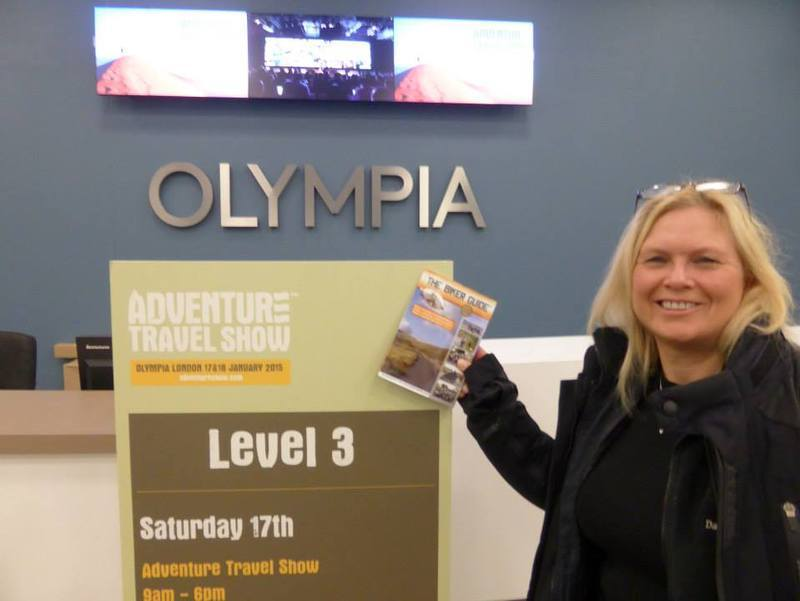 Jyl Oldham - A winner of tickets to The Adventure Travel Show 2015