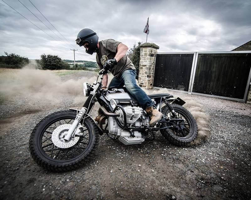 Inspirational custom bike builders Down and Out Café Racers