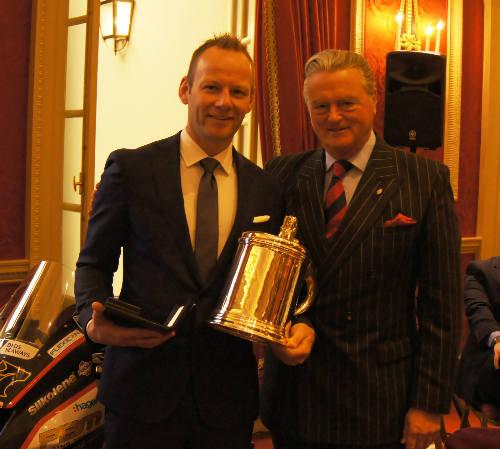 British Kawasaki rider Shane 'Shakey' Byrne has been awarded the coveted To