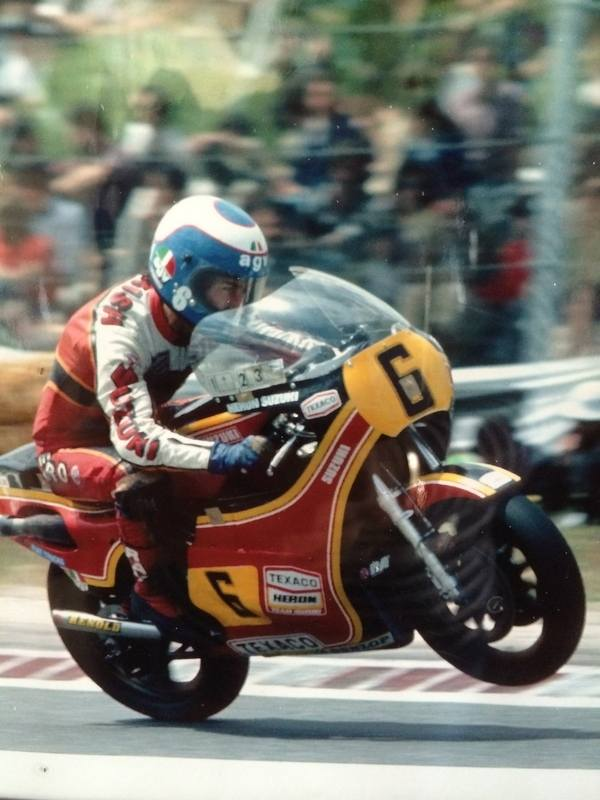 Steve Parrish will be racing a host of other legendary riders at Jerez on J