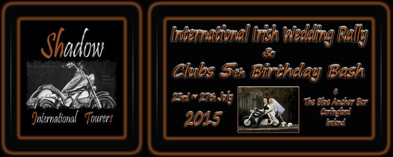International Irish Wedding and Clubs 5th Birthday bash Rally 2015
