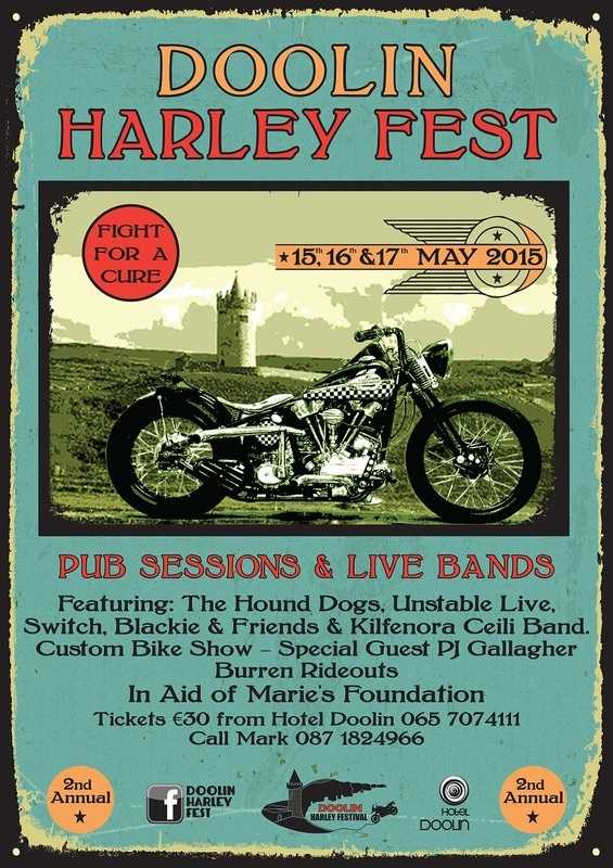 Doolin Harley Fest. Co Clare, Ireland, 2015