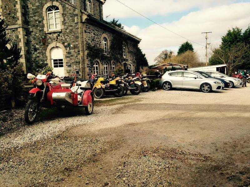 Woodleigh Coach House Cafe, Bikers welcome, Exeter, Devon