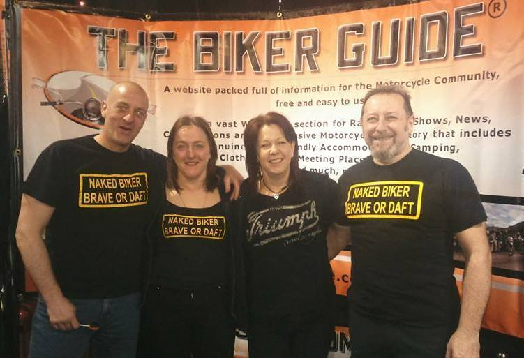 Our viper @ the Manchester Bike Show 2015, Mikey Gregg