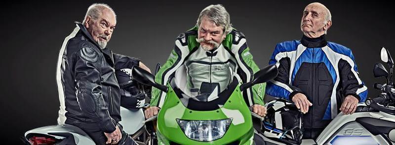 Live Fast Die Old - Motorbike Safety