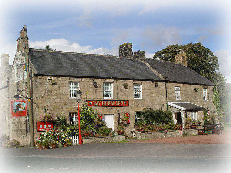 Bay Horse Inn, Bikers welcome, Hexham, Northumberland
