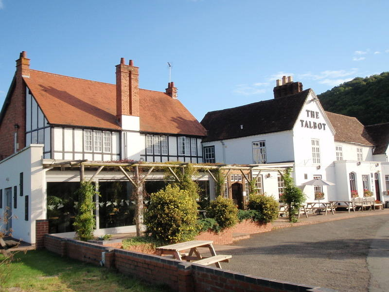 The Talbot at Knightwick, Biker Friendly, Pub, Worcestershire,