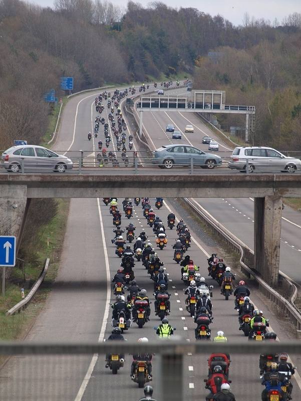 Bike4Life Ride Out, M54