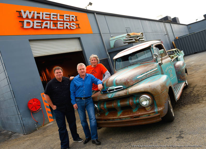 1951 Ford F1 truck restored by Wheeler Dealers Mike Brewer and Edd China