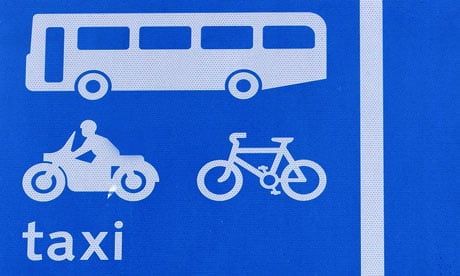 Allow powered two wheeled vehicles full Bus Lane